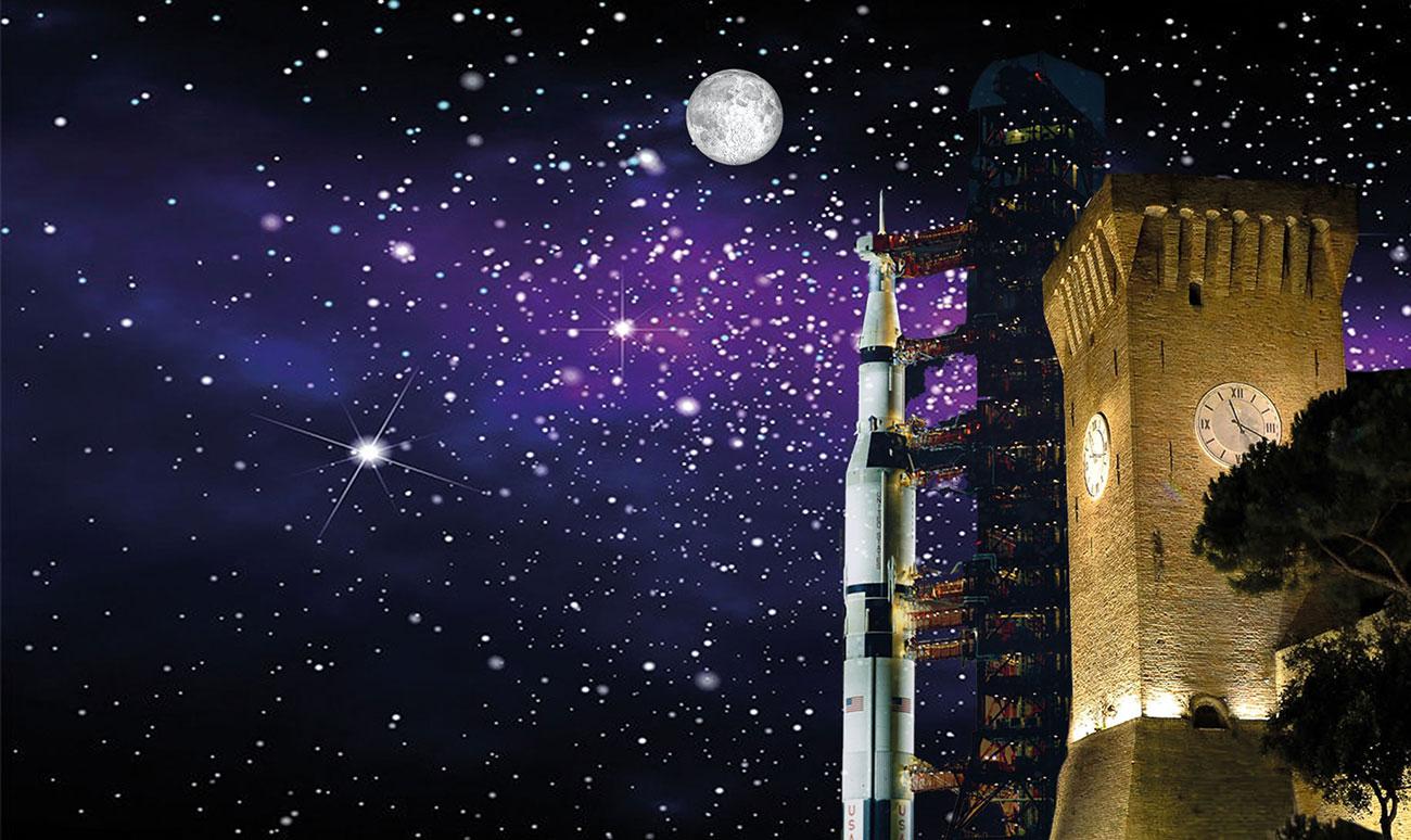 Enrico Medi e la luna
