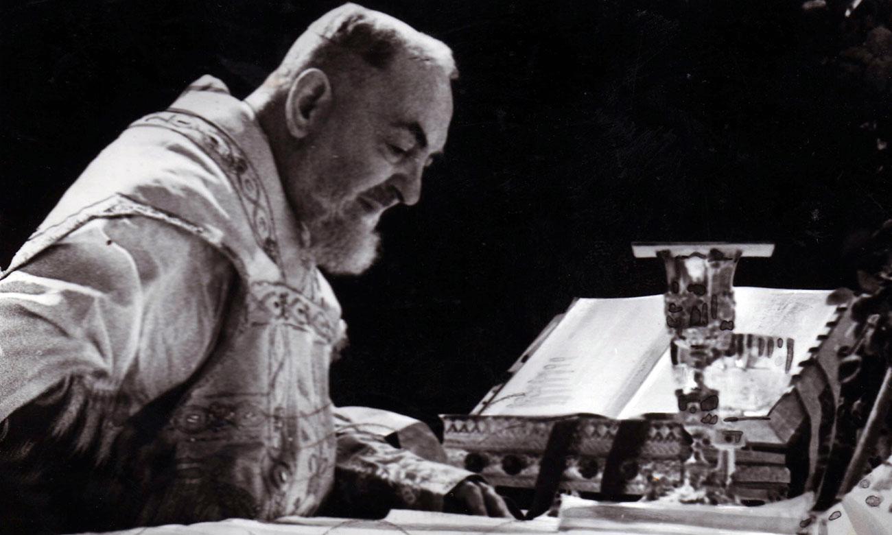 Padre Pio ed Enrico Medi